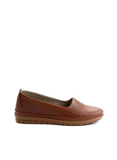 Bambi Kadın Klasik Ayakkabı K01590430009 Taba